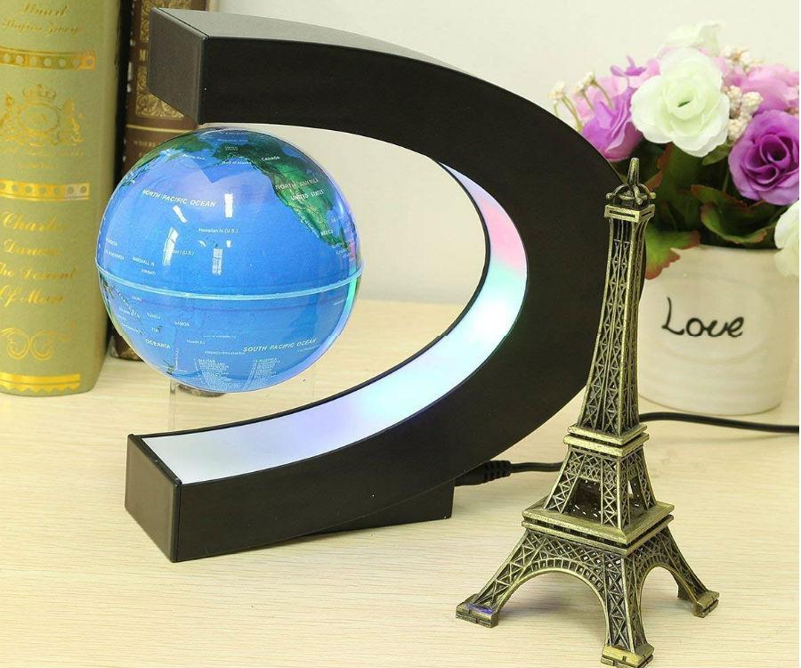 floating globe levitation