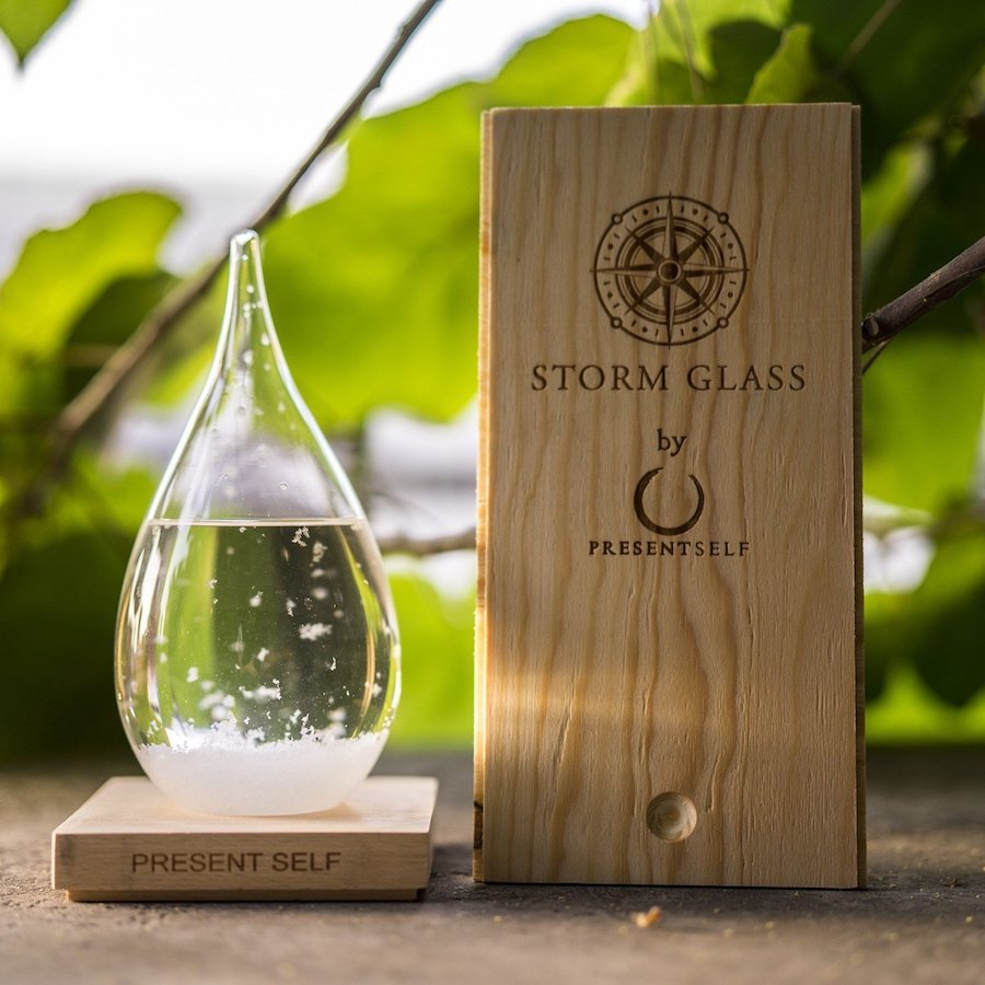 storm glass weather forecaster