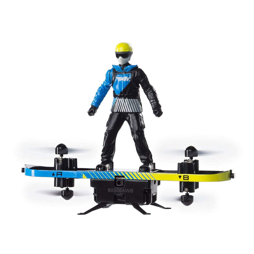 Air board and paraglider 2in1 device with build in flight assist technology