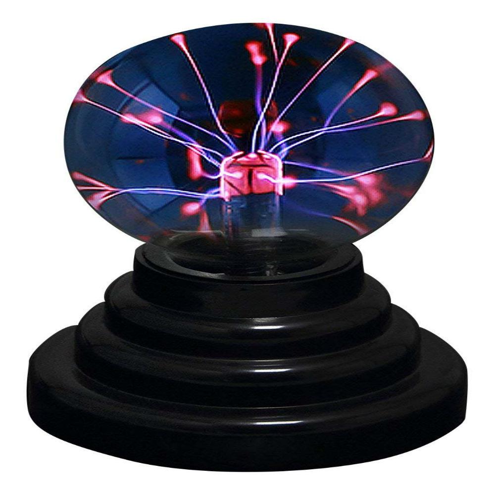 Adorable USB Plasma Ball with colored light and human sensitivity
