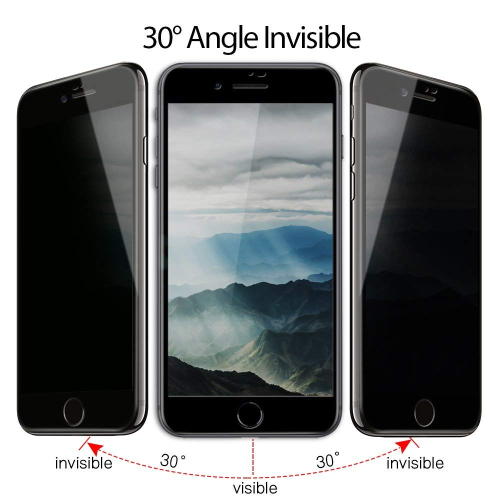 Anti Spy 3D coverage with wear resistance Screen protector