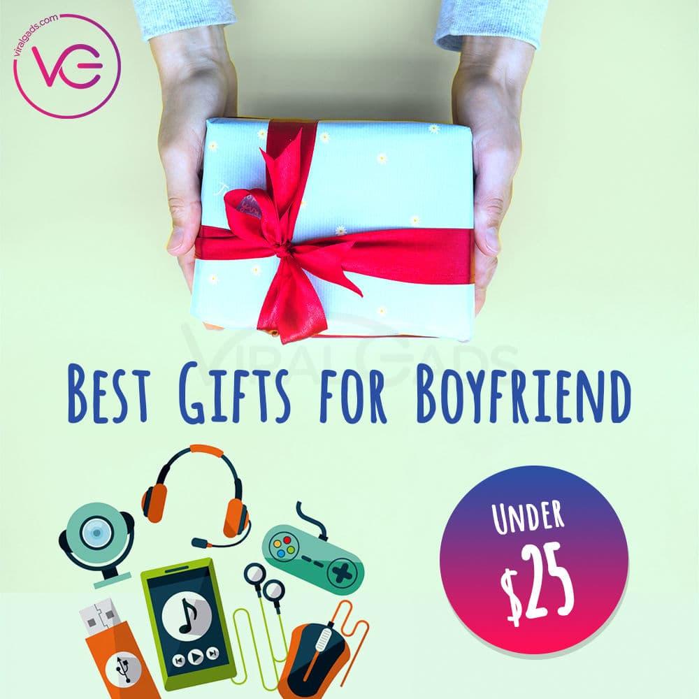Best Gifts for Boyfriend Under 25
