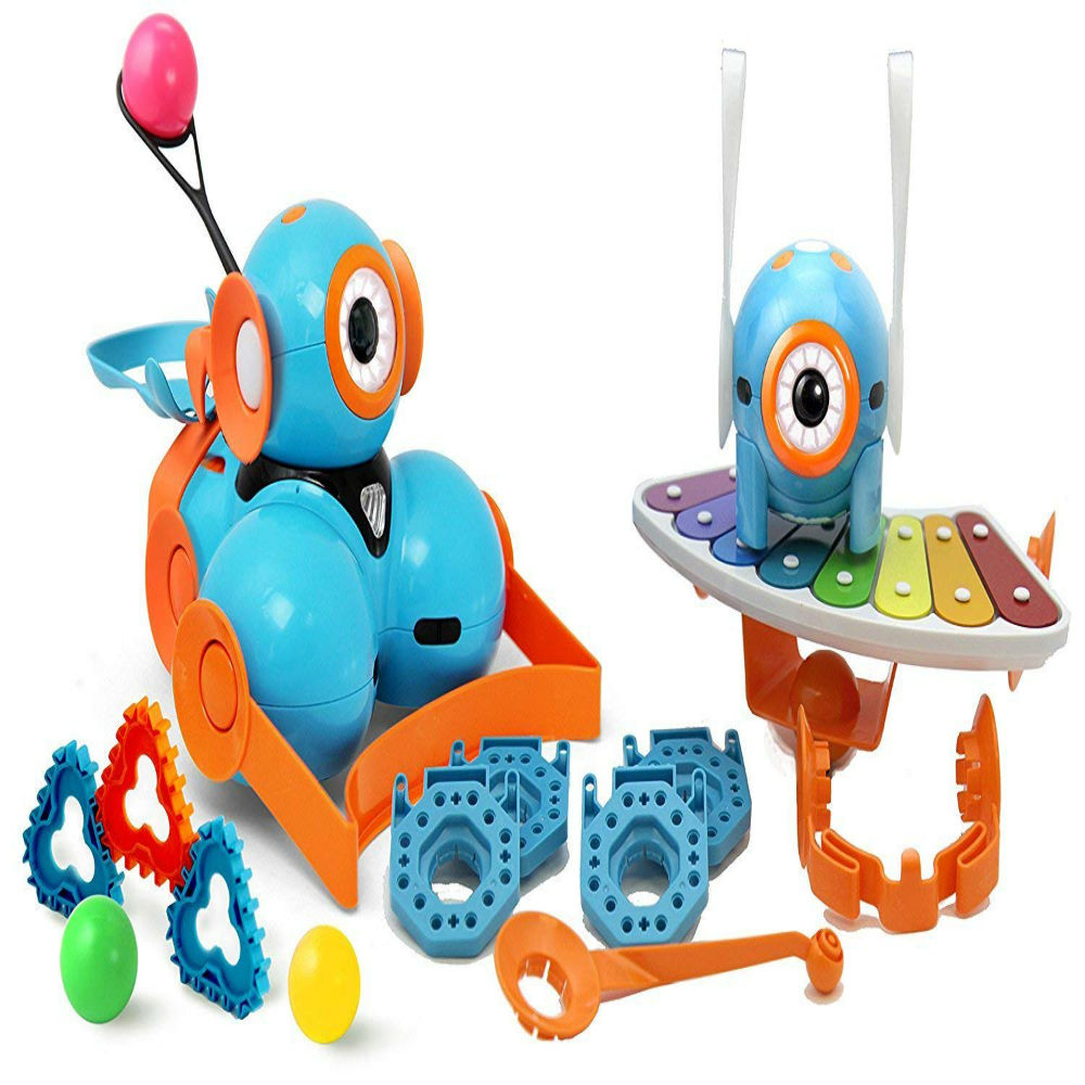 Exciting Fun and learn with Wonder Workshop Dash & Dot Robot Wonder Pack