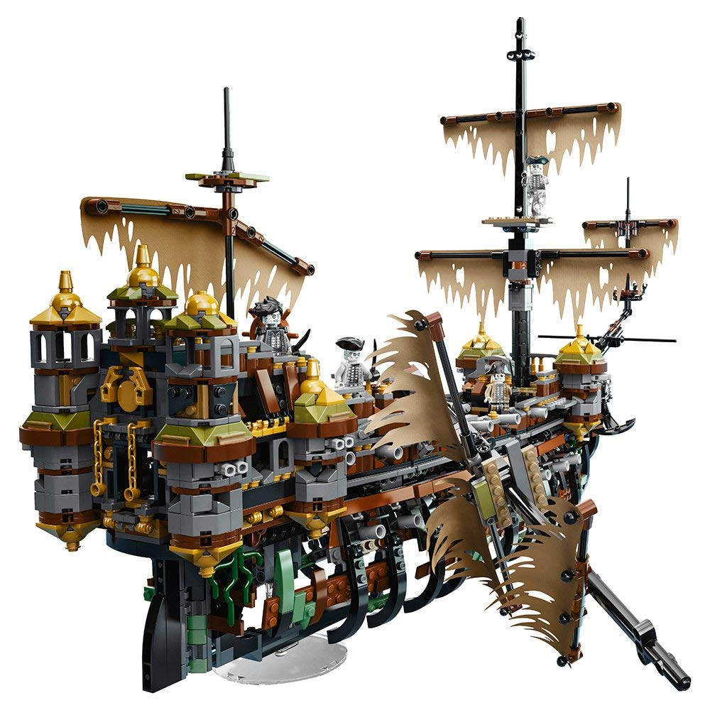 An amazing Kit for building Pirates of the Caribbean Ghost Ship to amaze you!