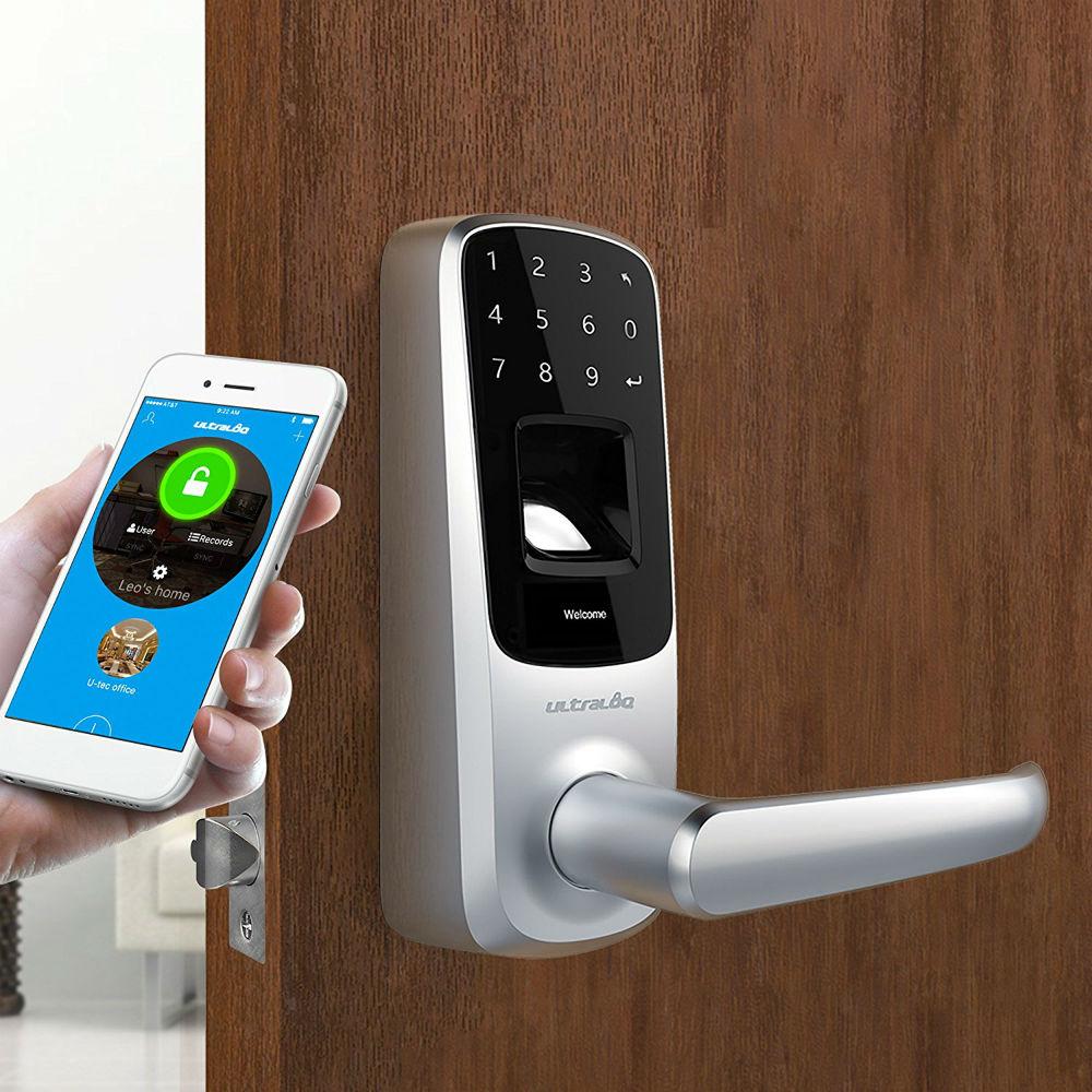 Smart lever lock