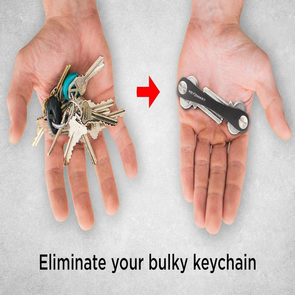 Stunning KeySmart Compact Key Holder and Keychain Organizer arranges keys instantly