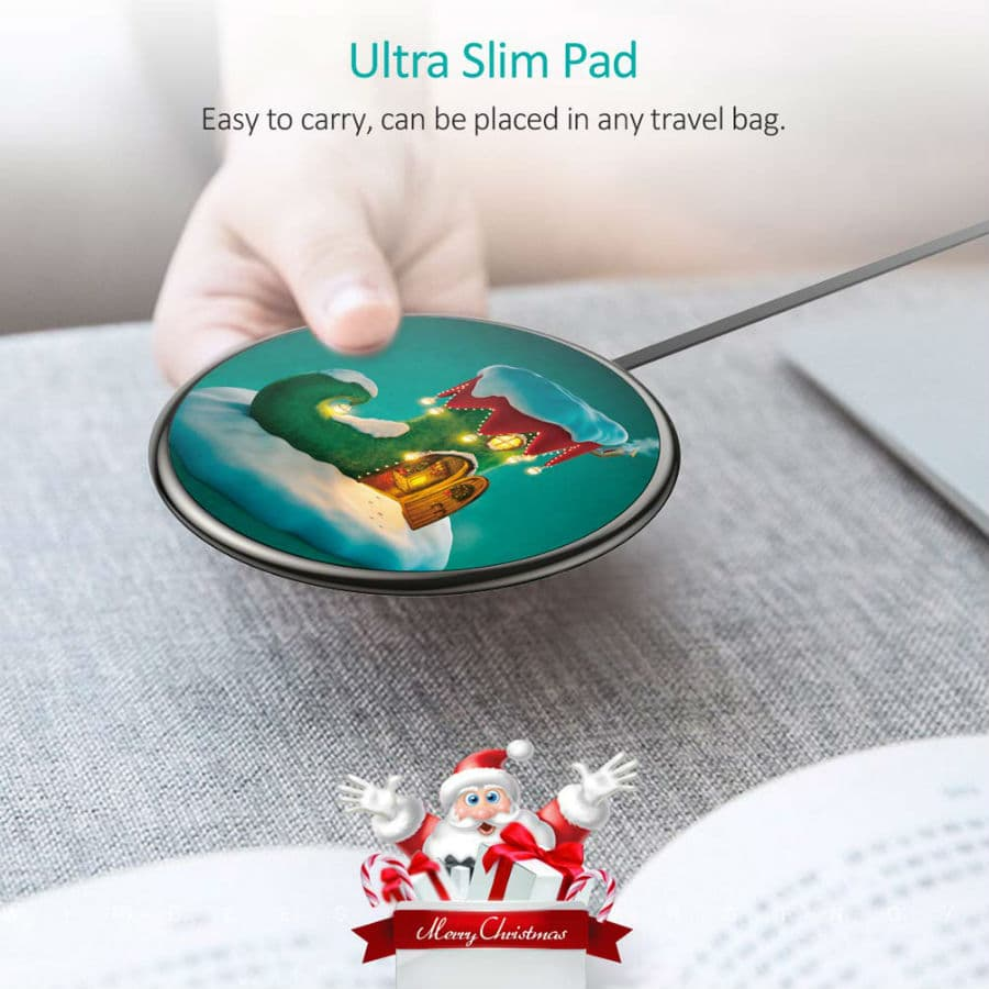 CHOETECH Wireless Charger Ultra Slim
