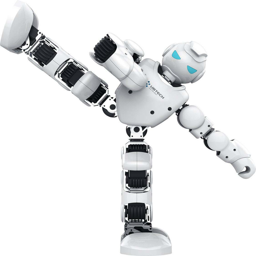 Own This Humanoid Robot And Pose-Record-Play Its Lightning-Fast Moves