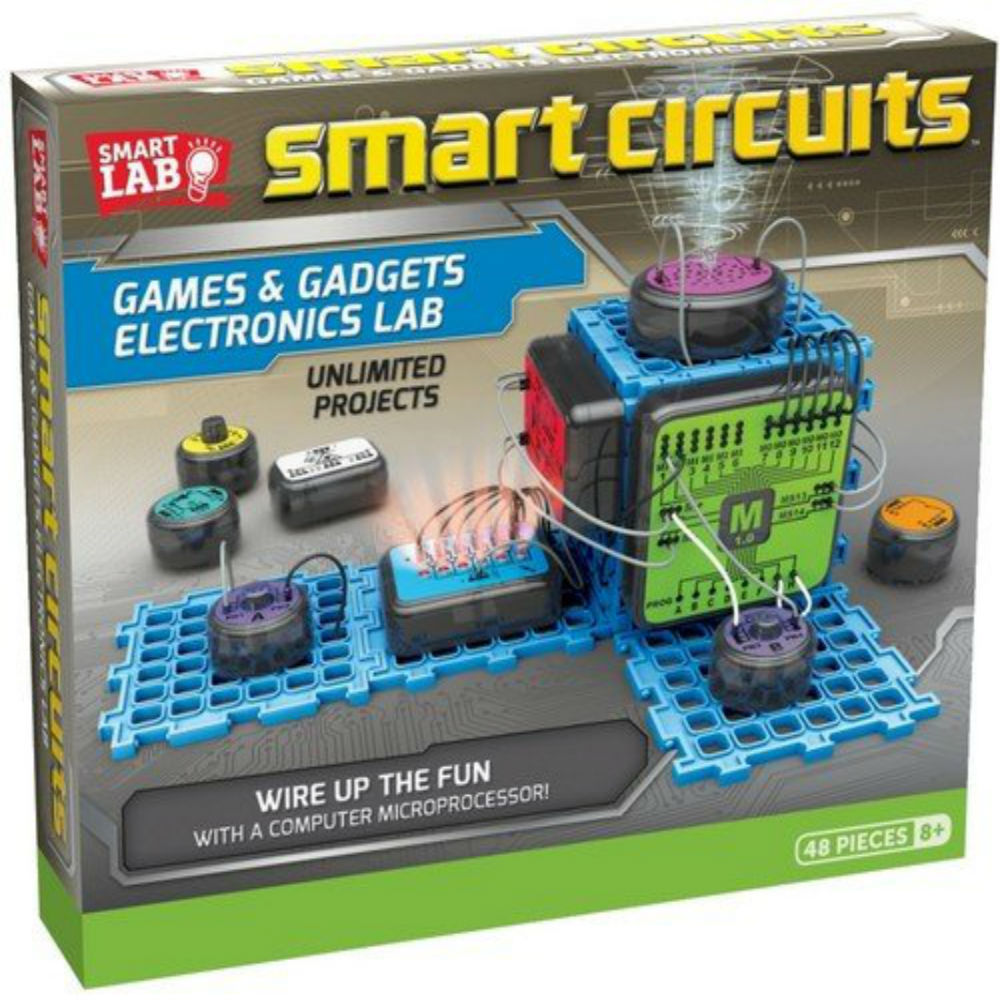 Rev Up Your Kid Smartness With This Smart Circuit Games Gadget Electronic Lab