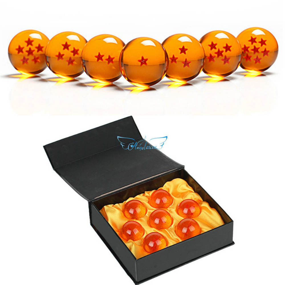 A Set Of Transparent Acrylic Play Balls With 3D Stars Inside