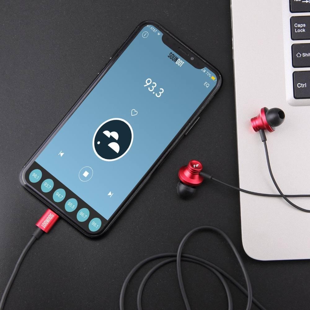 acoustic earphone