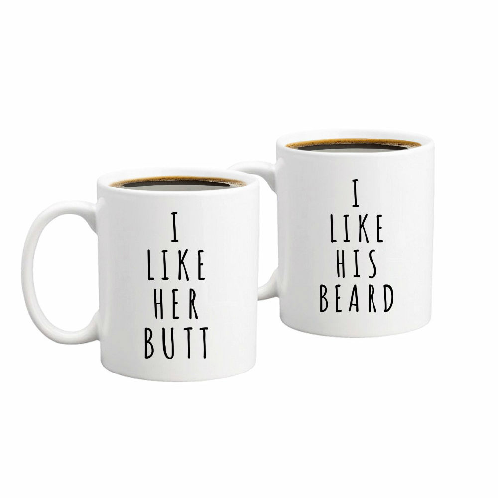 Quirky Printed Coffee Mug Set To Spice Up Your Love This Valentine's Day