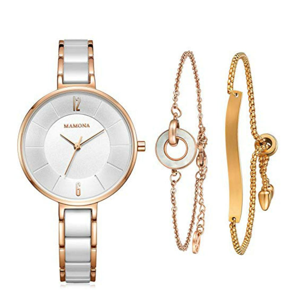 This Watch And Bracelet Combo Will Impress Make Your Love's Heart Melt