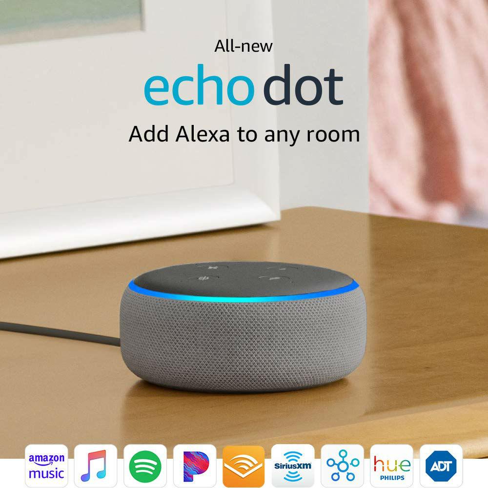 Echo Dot- Smart Speaker