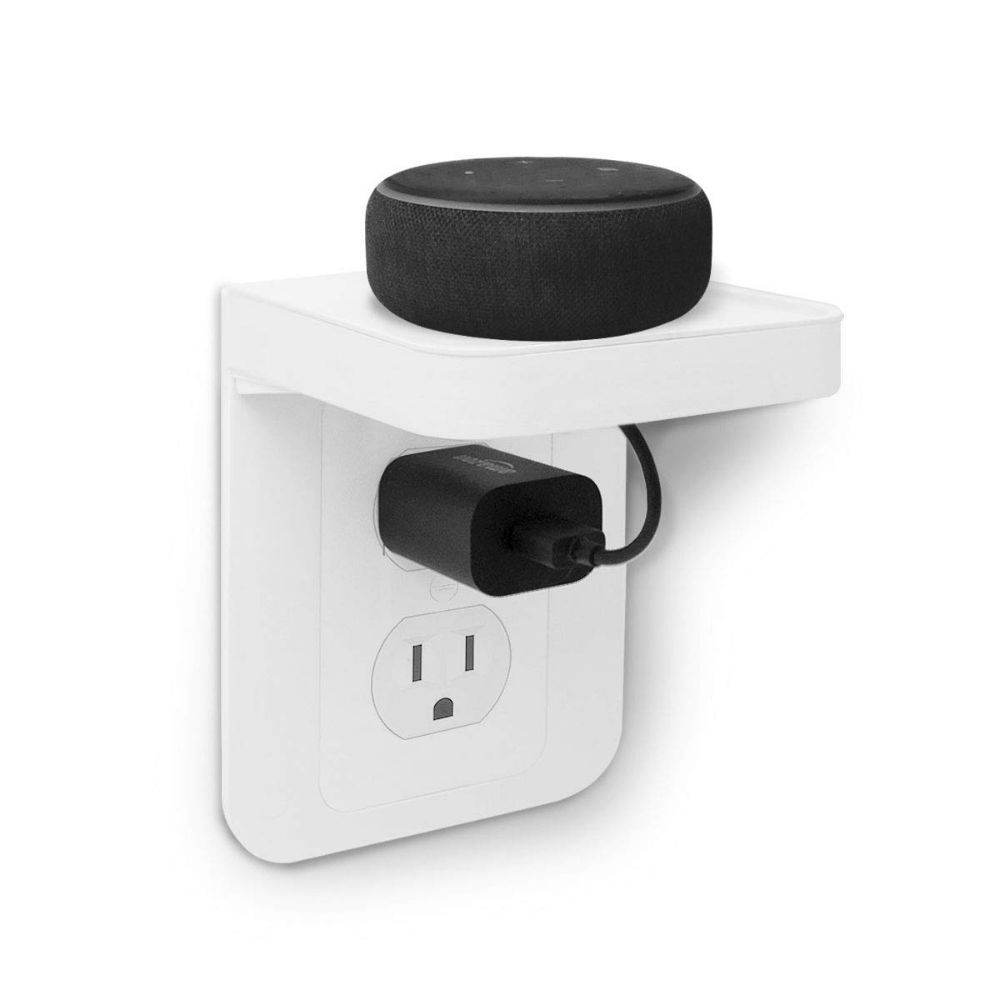 This Outlet Shelf Power Perch Makes Charging Easier And Saves Space