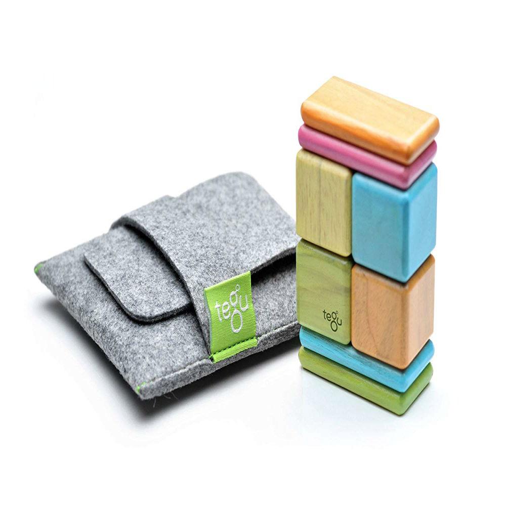 magnetic wooden block set