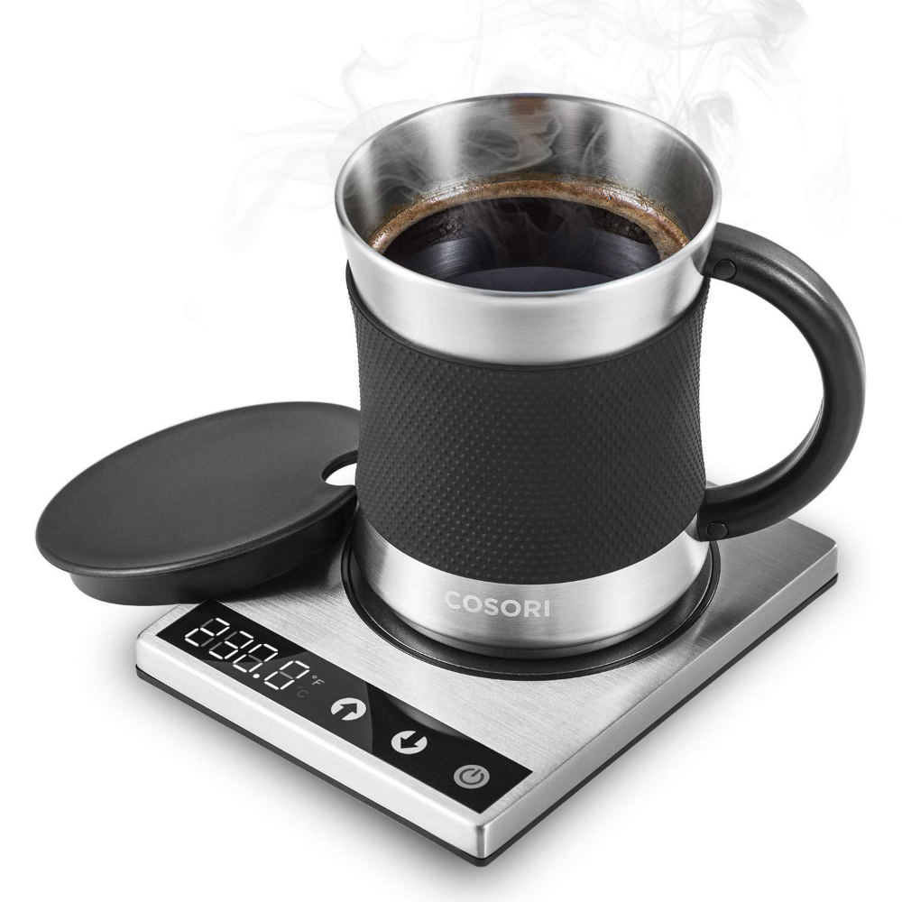 Enjoy A Perfectly Warm Cup Of Coffee with This Coffee Mug Warmer
