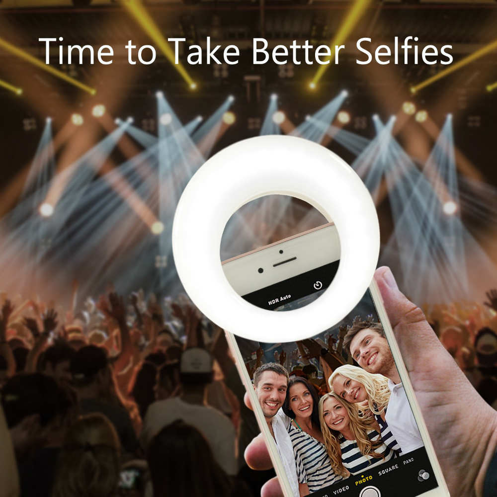 Make Your Selfies More beautiful With This Selfie Light Ring