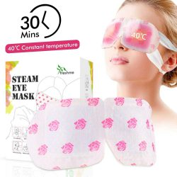 Relive Your Eye Stress and Fatigue with This Steam Eye Mask