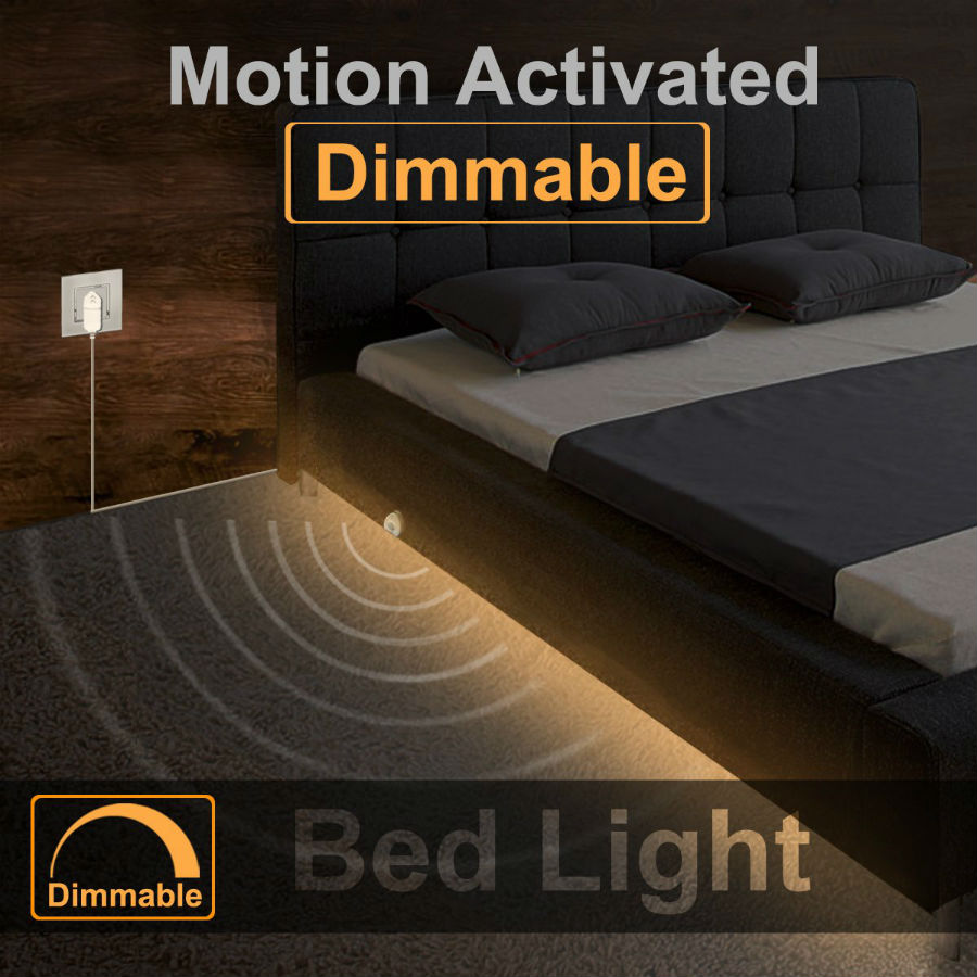 Motion Activated Under Bed Light