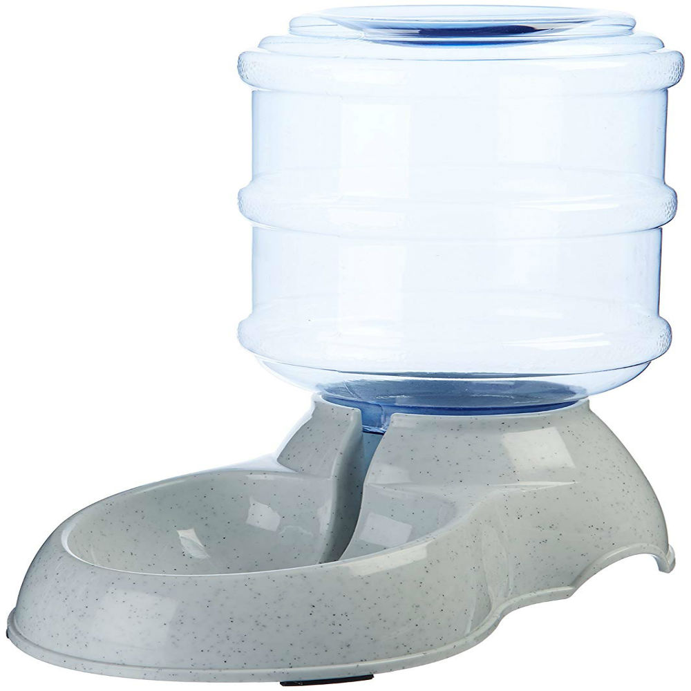 Pet Feeder Cum Waterer That Works On law Of Gravity