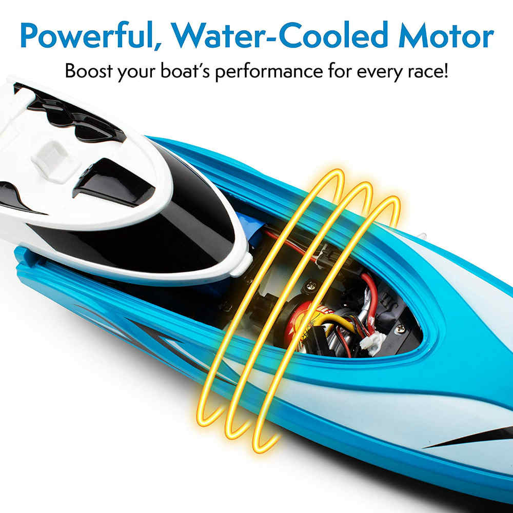 Remote Control Boat To Enjoy Rowing On Ponds And Lakes