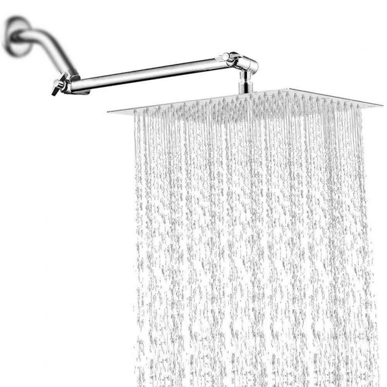 Square Rainfall Showerhead to Enhance Your Bathing Experience