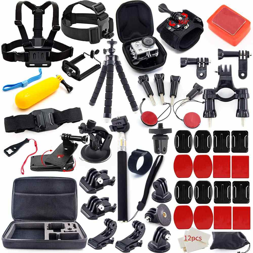 Action Camera Accessories Kit that Helps You Get Awesome Shots