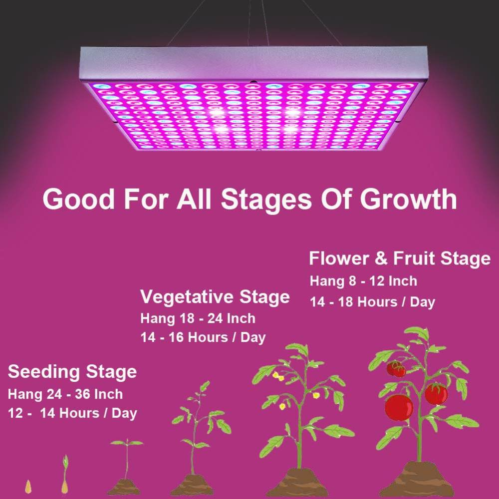 Led Grow Plant Lights For Indoor Plants 45w