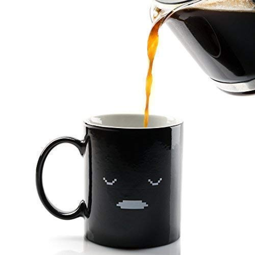 Morning Coffee Mug that Can Change It's Color