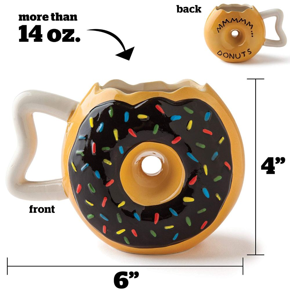 Original Donut Mug that Looks so Tasty for Breakfast