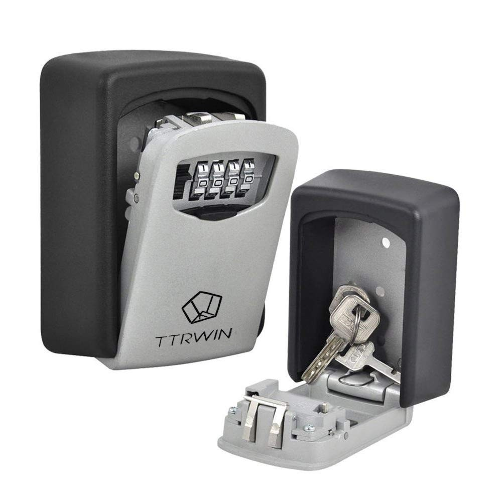 Wall-Mounted Safe Box with Digital Locking For Keys