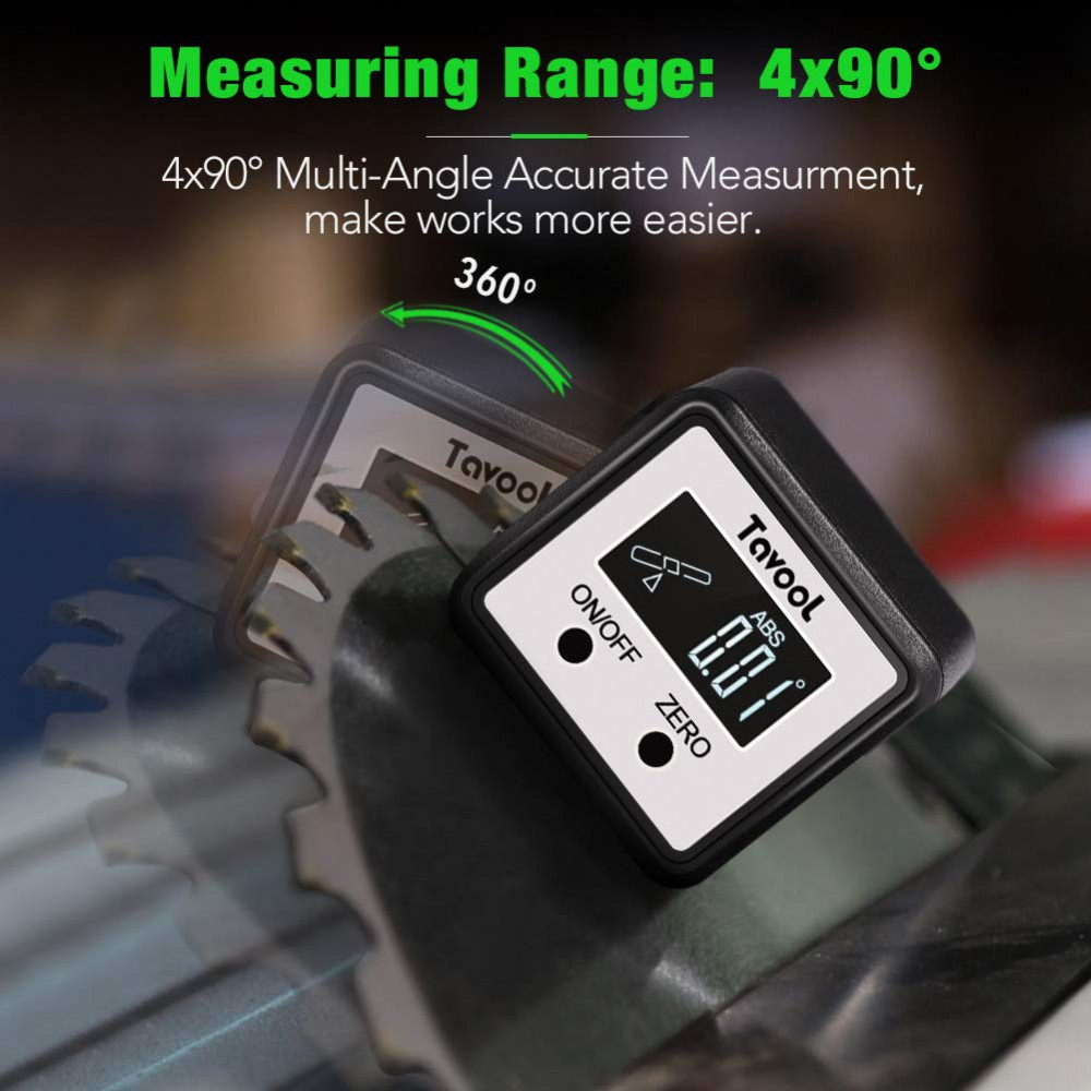Compact Digital Angle Gauge