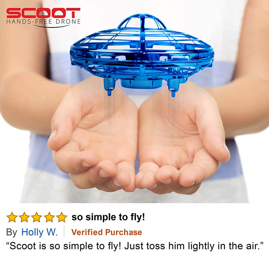 scoot hands free drone