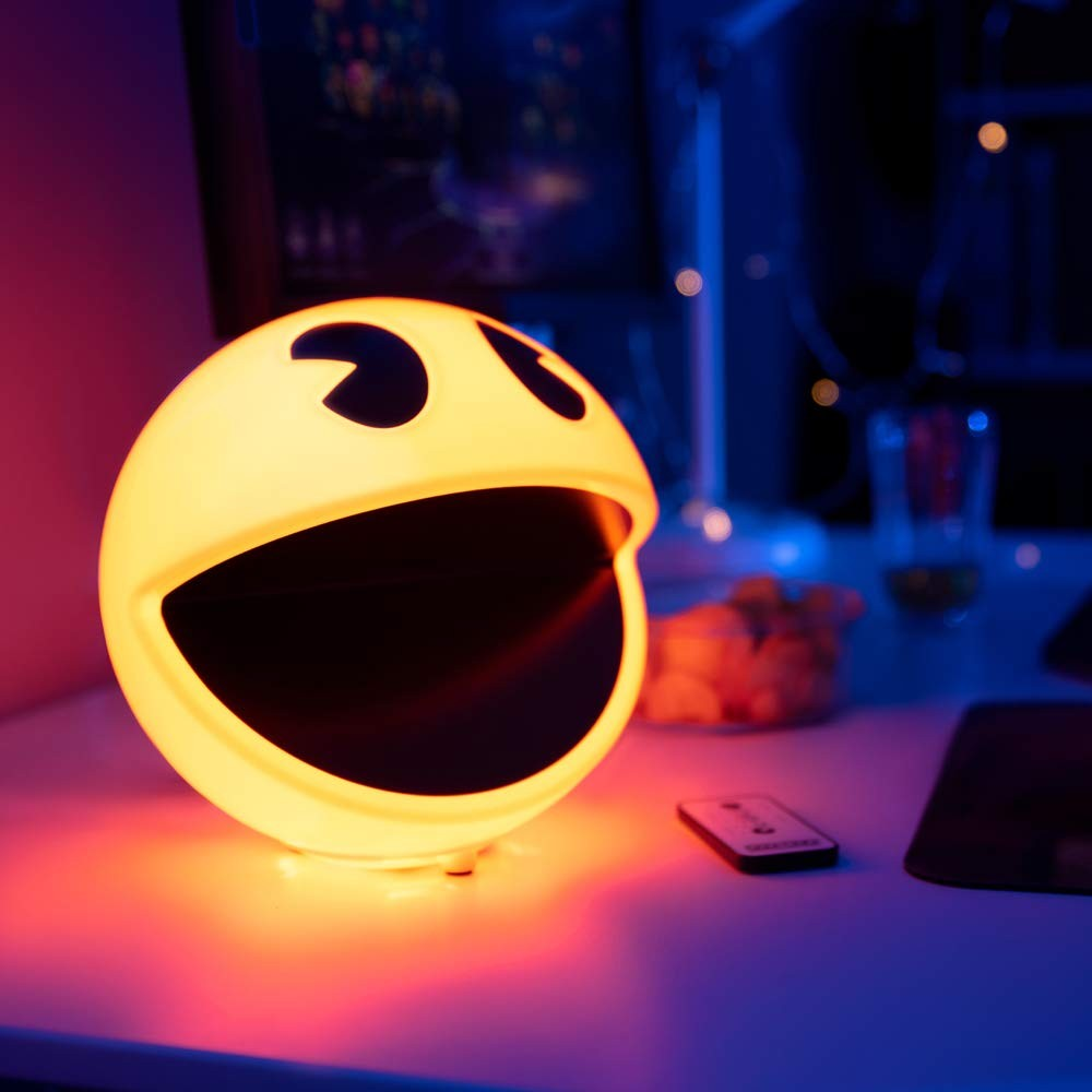 Pac-Man Lamp that will Bright Up Your Room