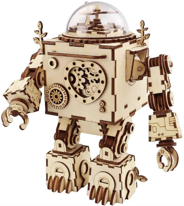 ROKR DIY robot music box