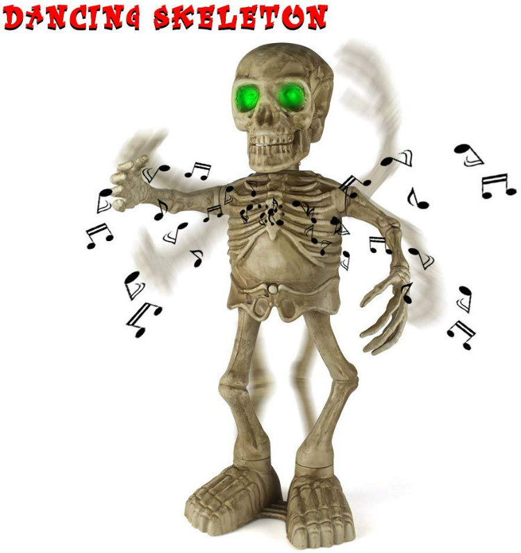 Sler halloween dancing skeleton