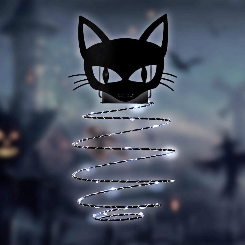 GIveU Halloween cat decoration lantern