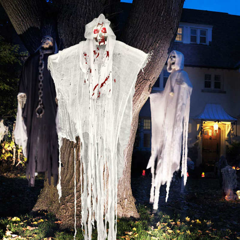 Unglinga halloween outdoor screaming bride
