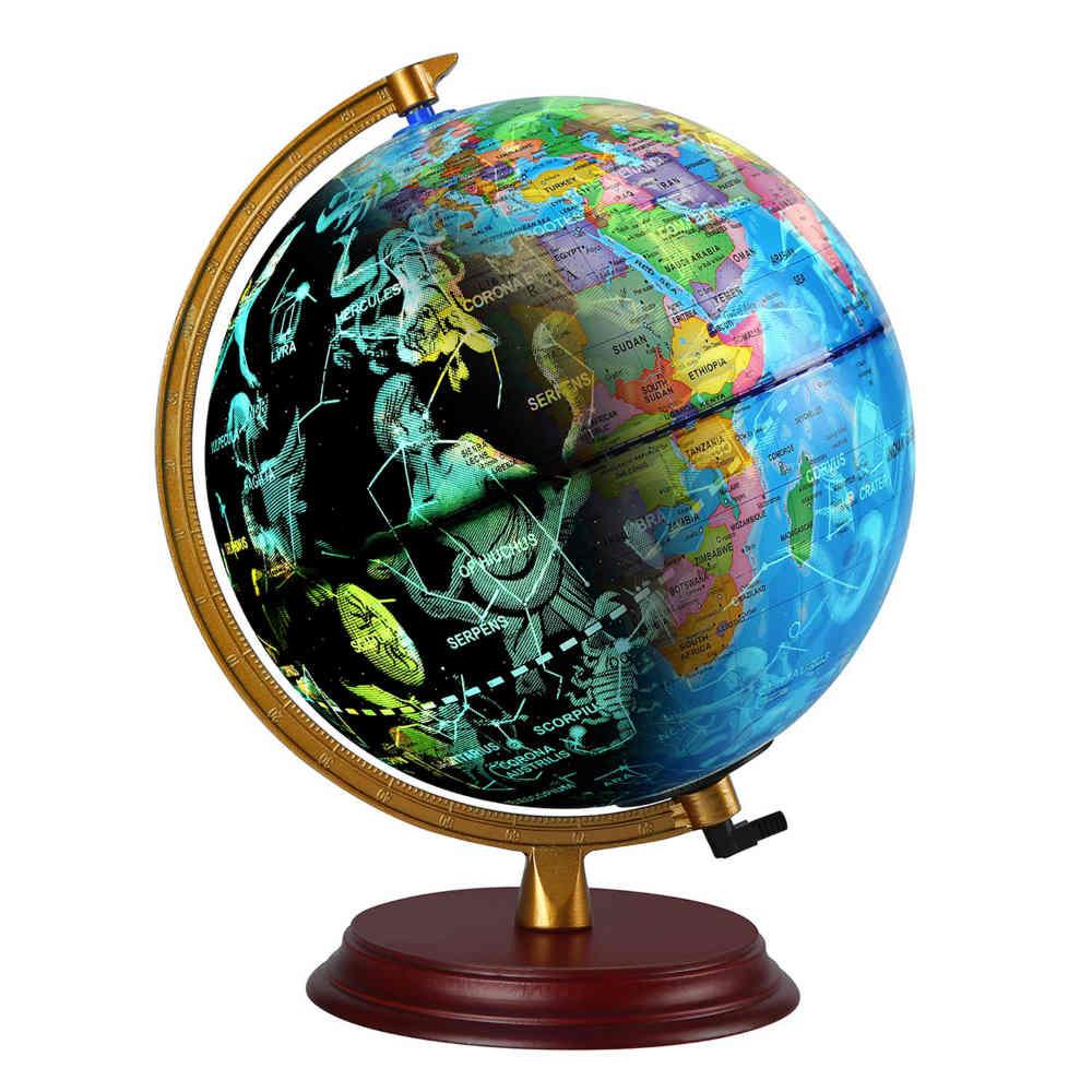 TTKTK Illuminated World Globe