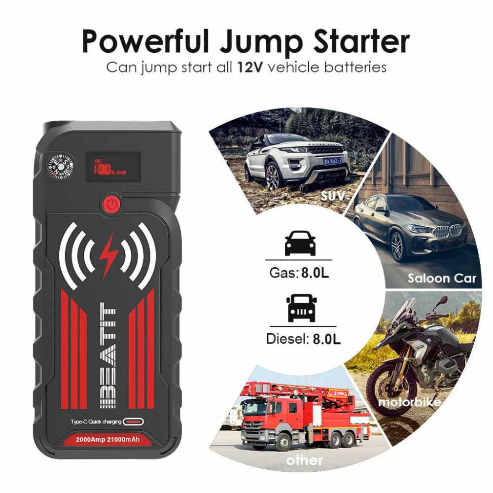BEATIT Portable car jump starter