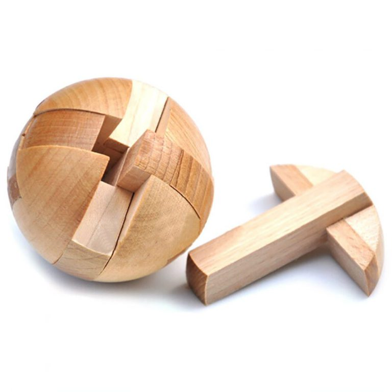 KINGOU Wooden Puzzle Magic Ball