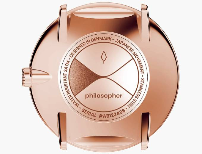 Philosopher Rose Gold Back Dial
