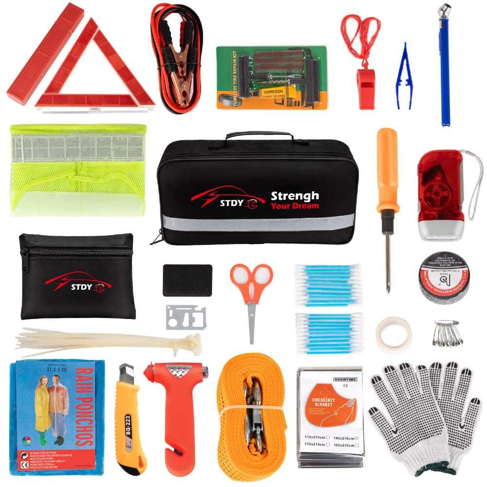 STDY car emergency roadside kit