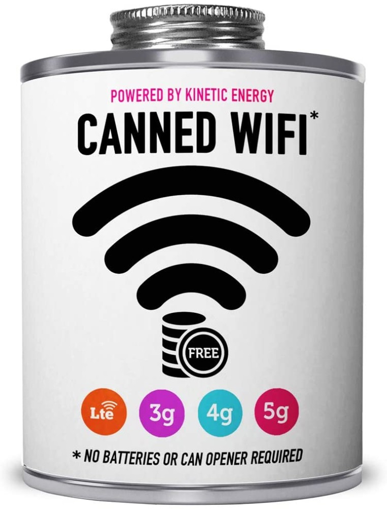 Giftable Invisibles Canned Wifi