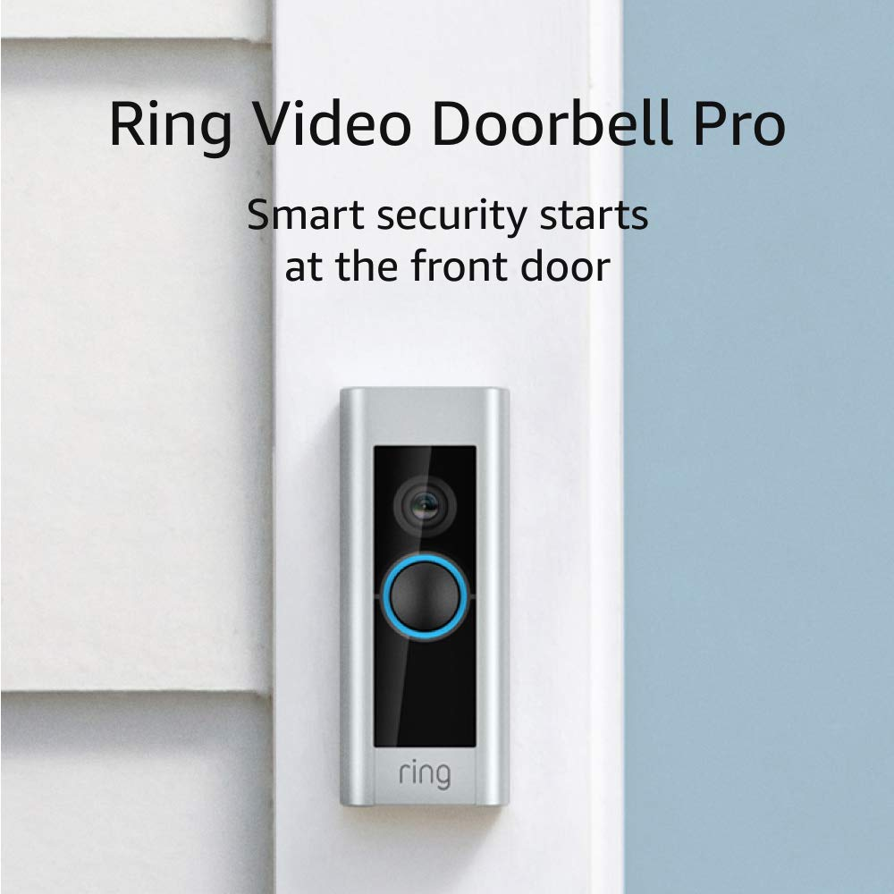 A Video Doorbell to Answer the Door from Anywhere