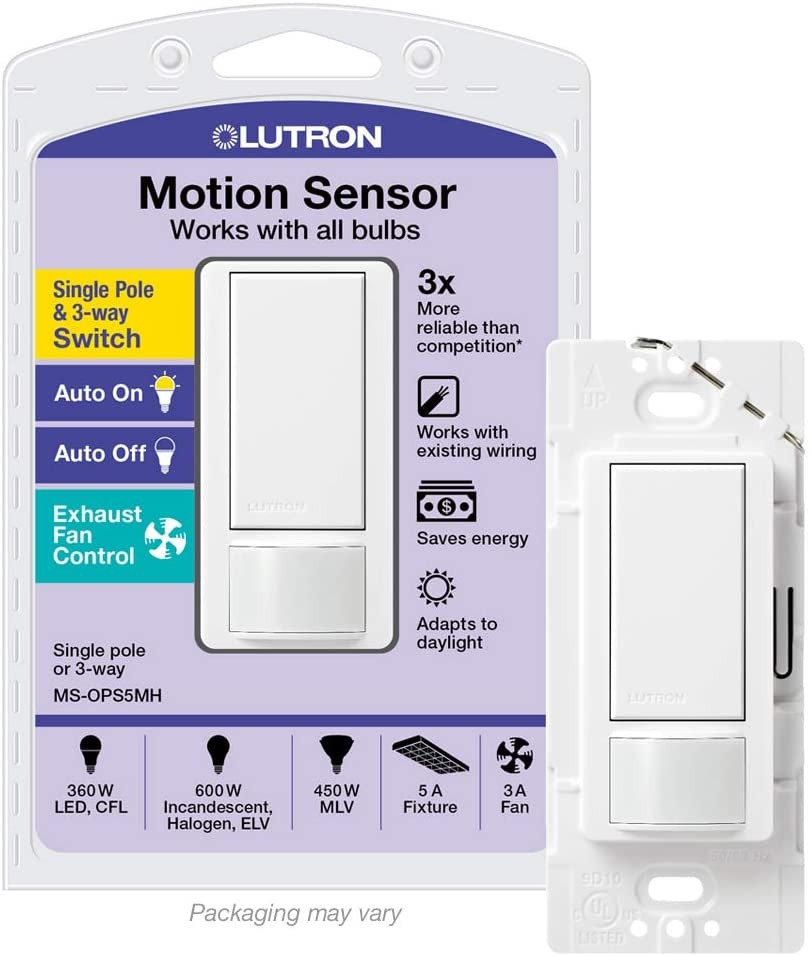 Lutron Maestro occupancy sensor switch