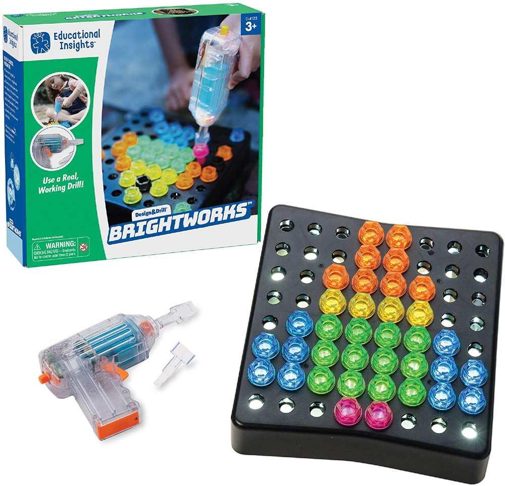 Educational Insights Light Up Drill Set