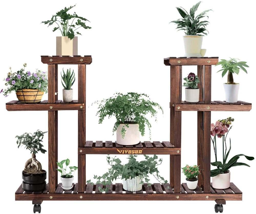 display raised garden bed