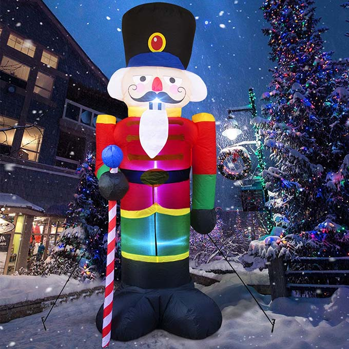 best inflatable snowman to blow up this christmas